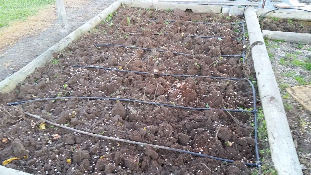 Watering System - Vegetables Patch
