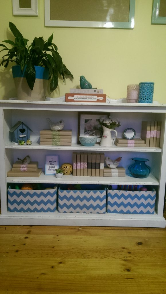 Completed Beautiful Bookcase