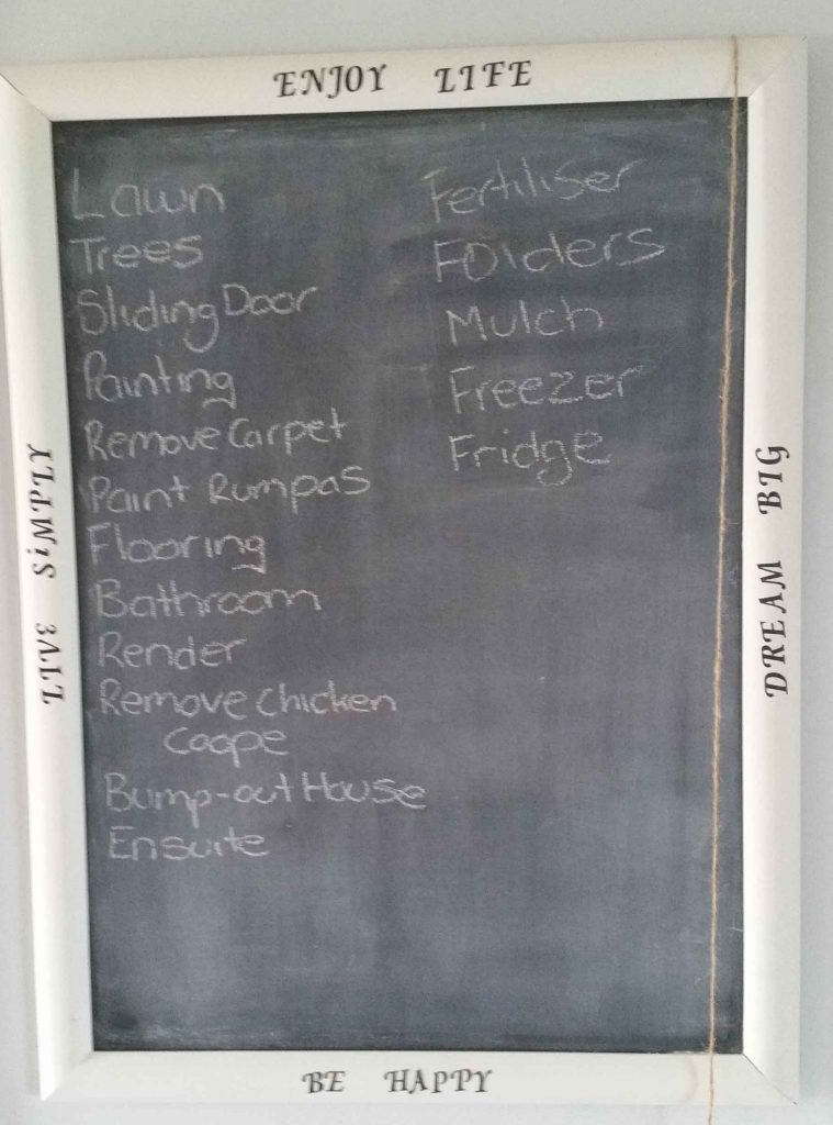 Planning – How to Start Organising Your Life - Chalk Board