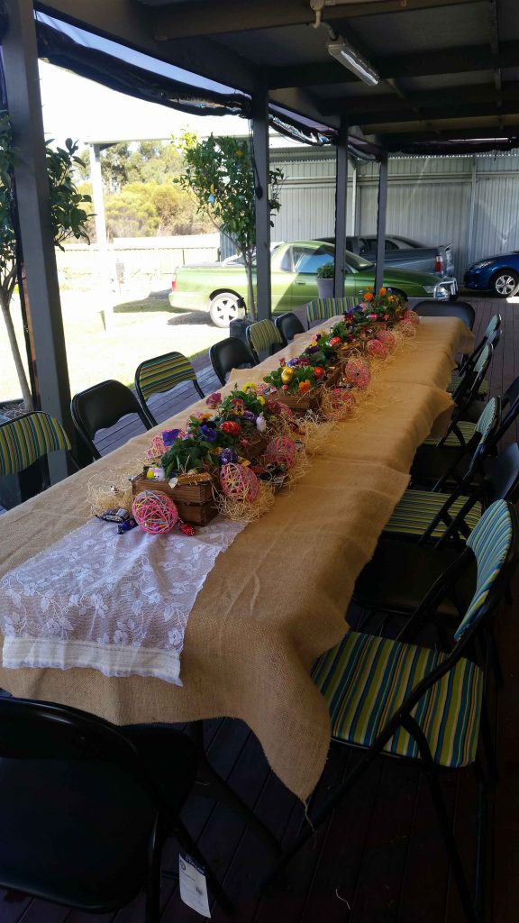 Event Planning - Easter Tables