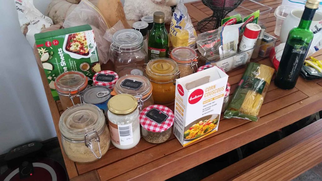 Kitchen Organisation - Empty the pantry to see what you have