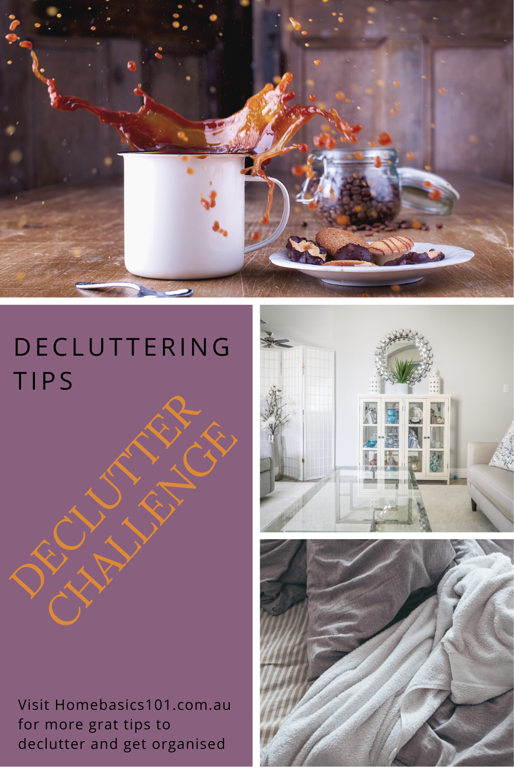 Free your mind with a little decluttering around the home