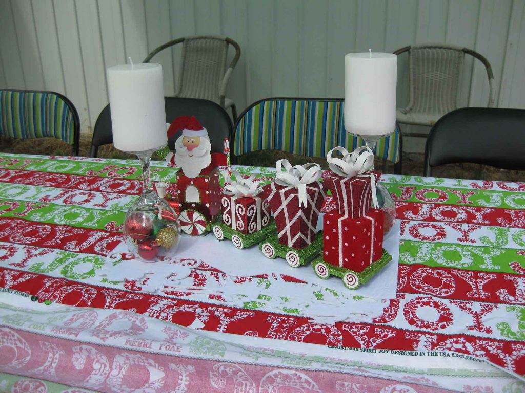 Event Planning - Christmas Tables