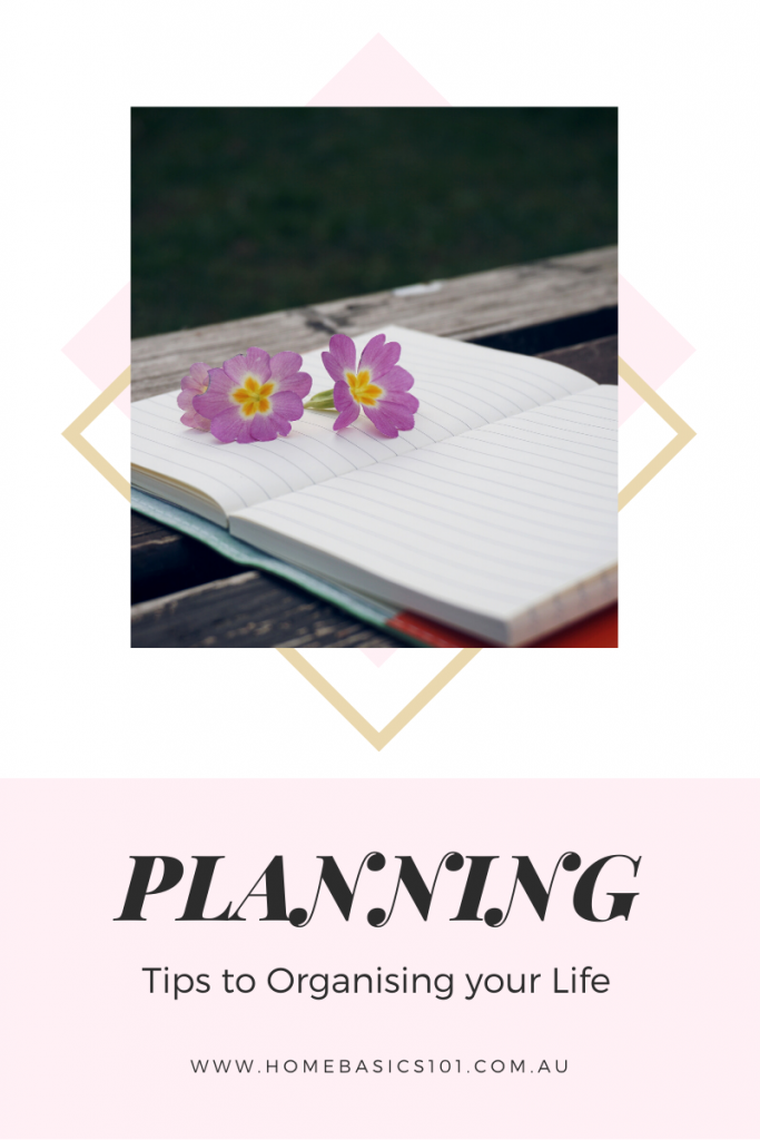 Simple tips to getting organised