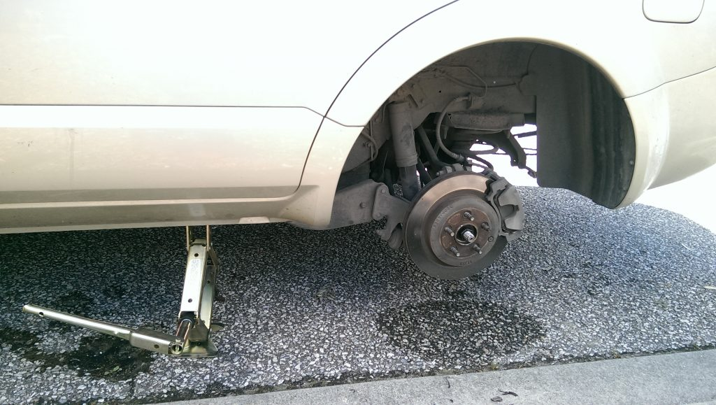 Removal of your tyre