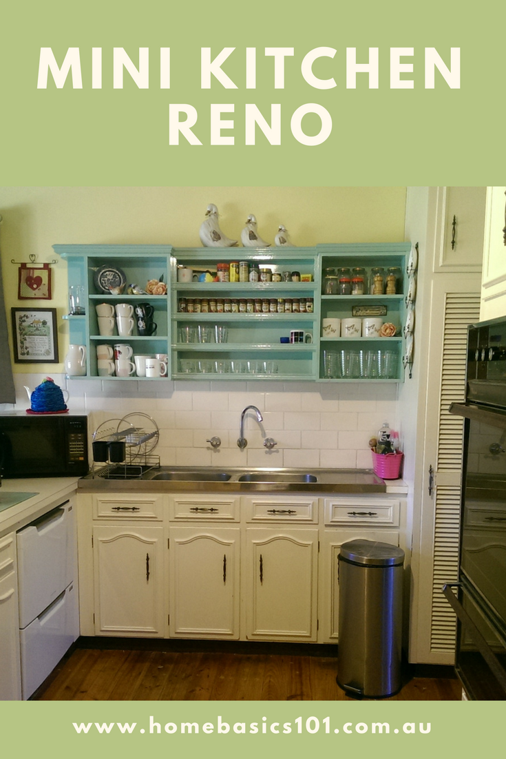 How to Give your Kitchen an inexpensive make over