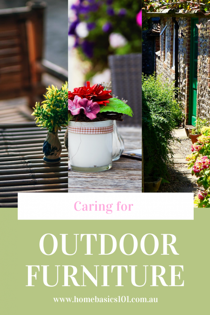 Tips to make your Outdoor furniture last - Simple DIY care tips