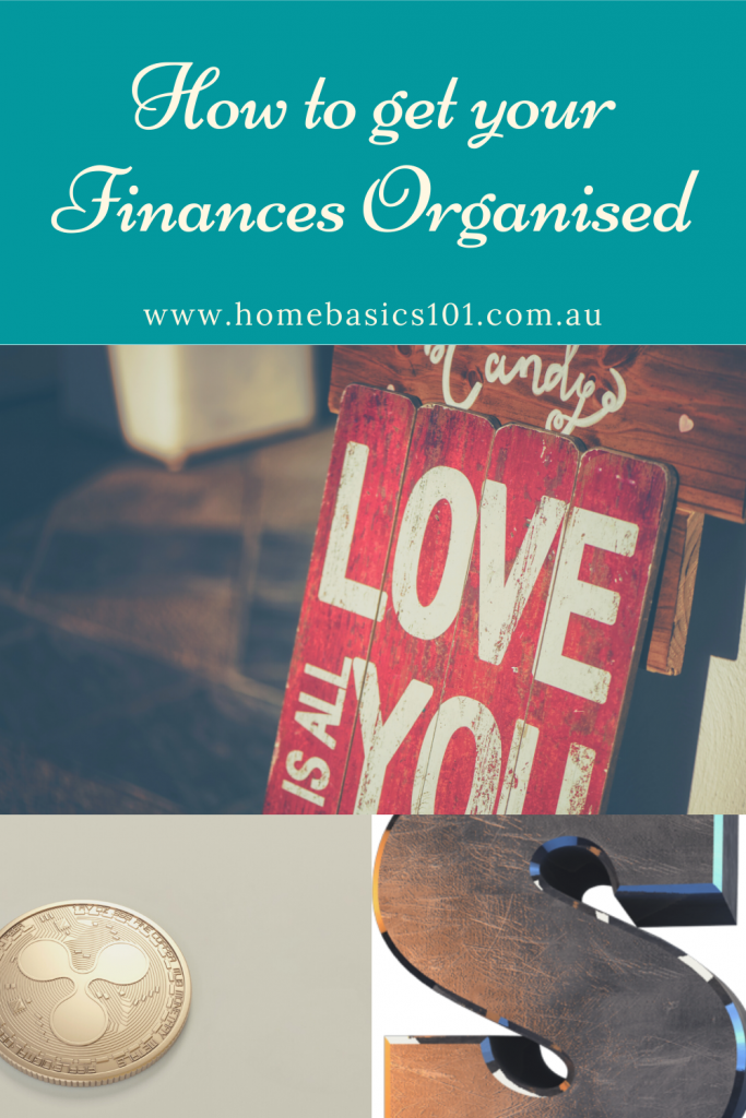 Tips to organising your Money