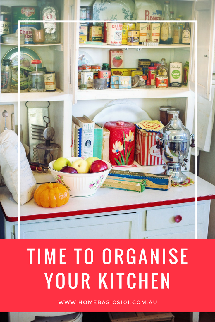 Kitchen Organised and sorted with a few tips