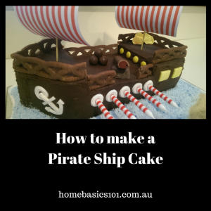 A Pirate Birthday Cake