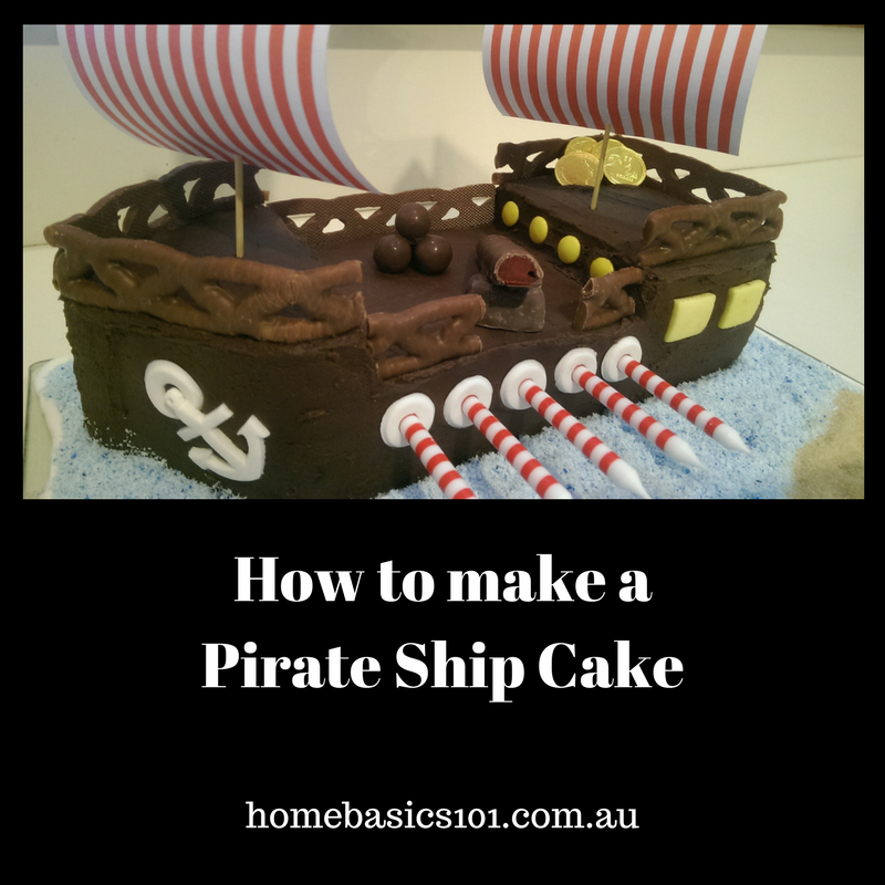 DIY Pirate Cake Design