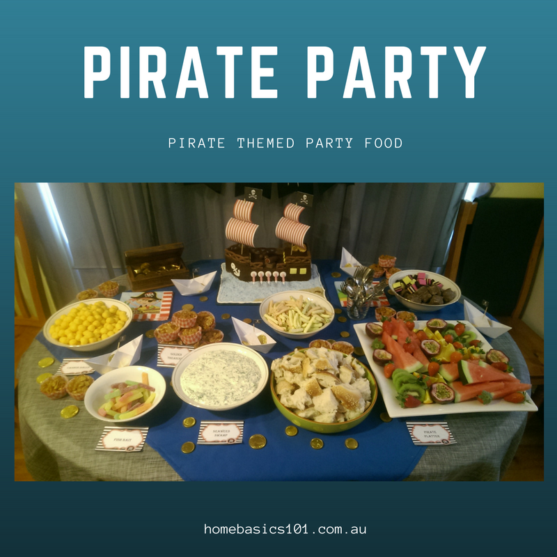 Pirate Themed Party Ideas