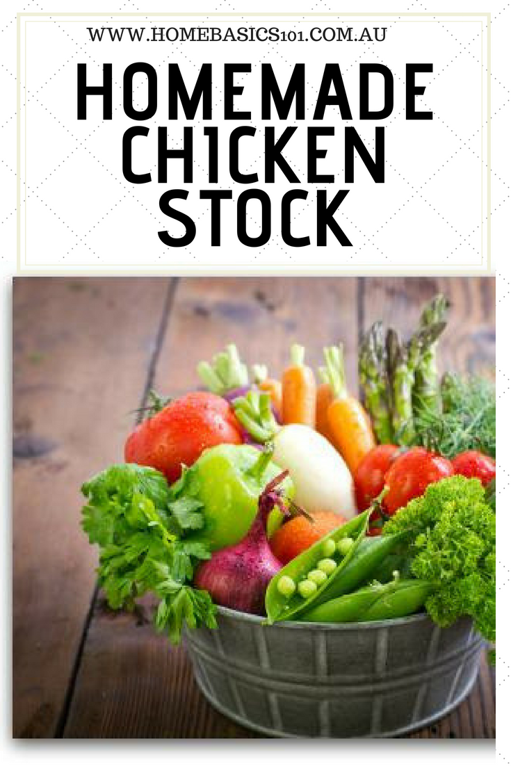 How to make your own homemade chicken stock