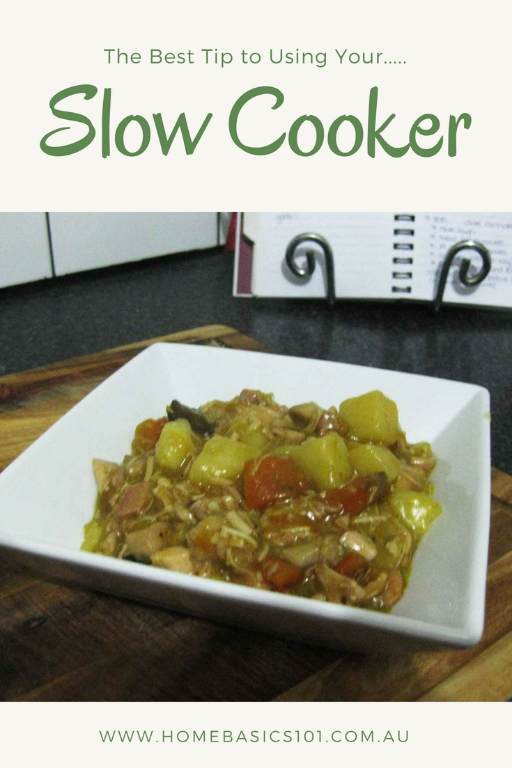 Easy Recipes for the Slow Cooker and the best tip you'll ever need to know how to use your slow cooker