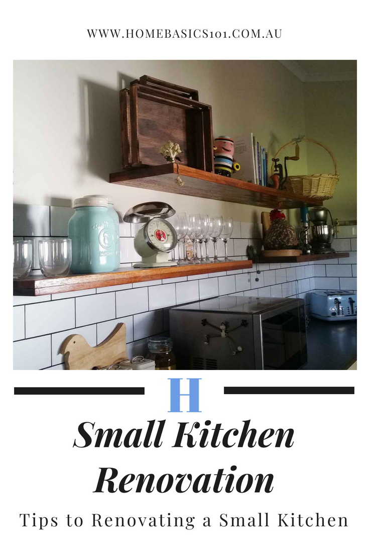 What tips to making a small kitchen work for you or how to renovate a small kitchen to give you the appearance of more space....