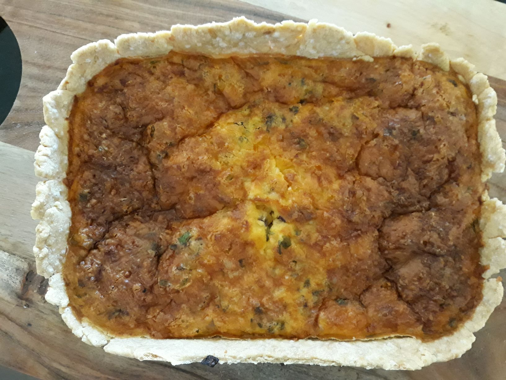 Egg & Chorizo Pie
