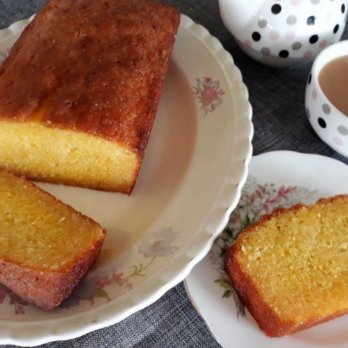 Lemon Trickle Cake Recipe