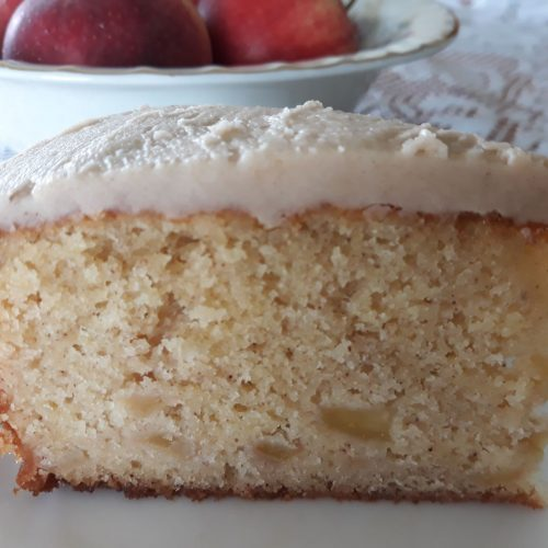 Simple Tasty and a great way to use let over or unwanted Apples,make this beautiful apple tea cake