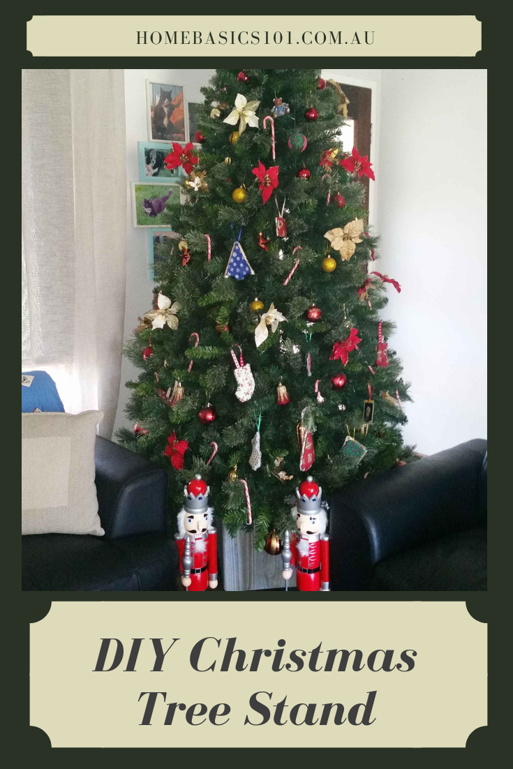 Easy and Simple DIY Christmas Tree Stand,