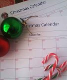 Want Beautiful Christmas calendar planner - Never get frustrated or lose track of time this Christmas