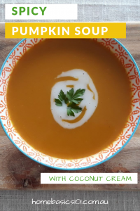 Creamy Spiced Pumpkin Soup