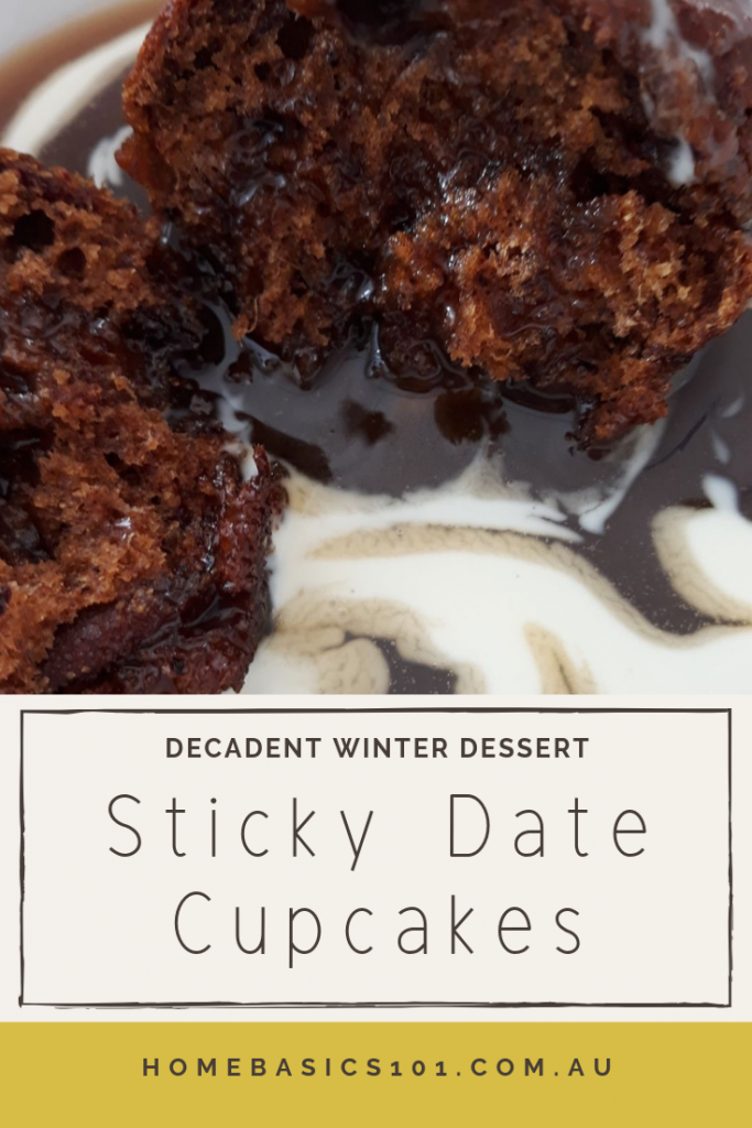 Sticky Date Cupcakes