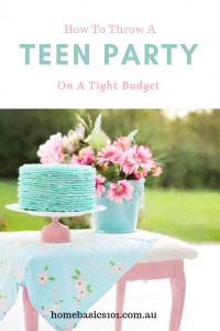 Teenage Birthday Party on a Budget
