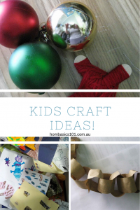 Five Inexpensive Kid Christmas Craft Ideas
