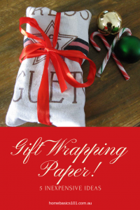 5 Inexpensive Ideas to Gift Wrapping Paper
