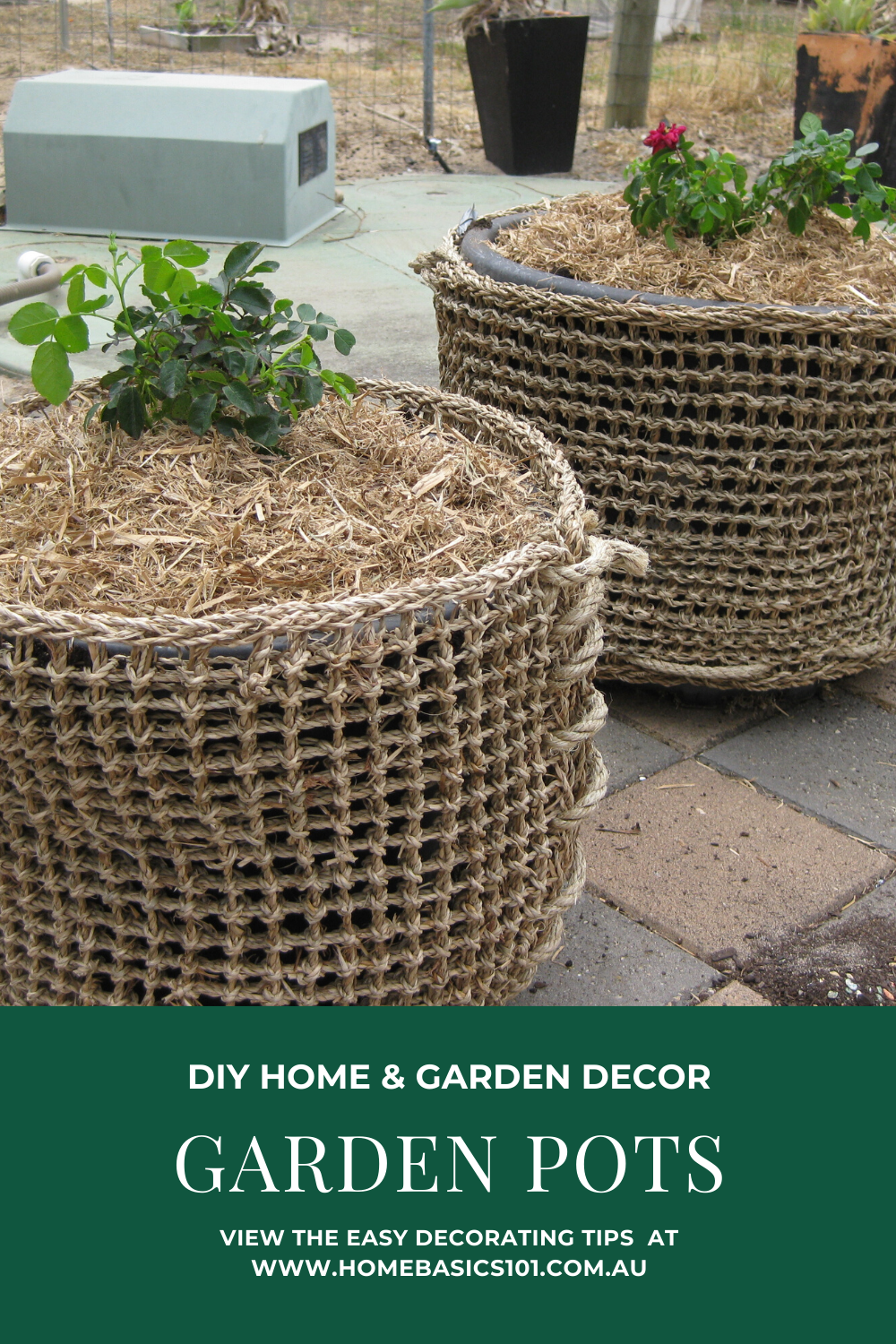 How to Decorate Pots