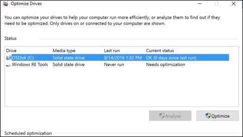 Where to Find Directions on Defragment your hard drive