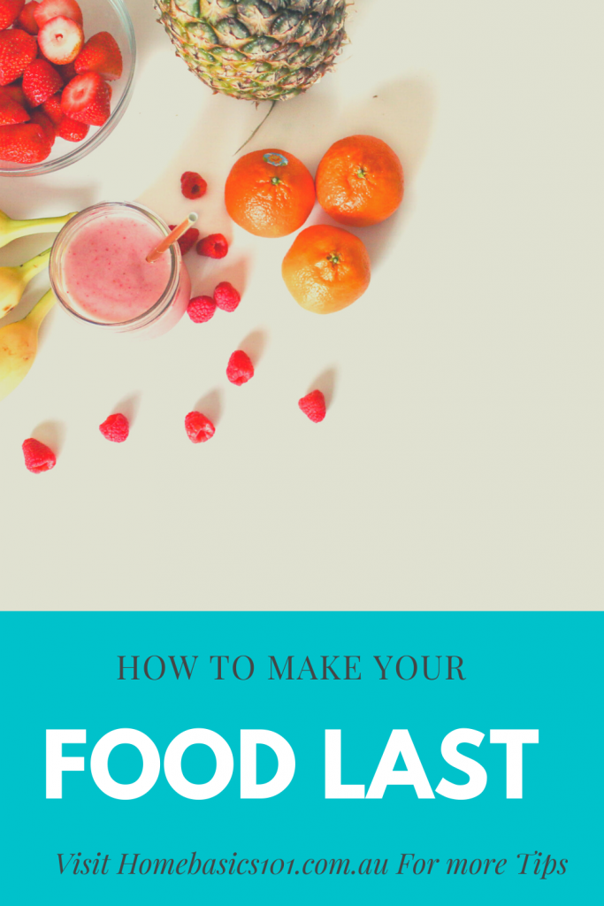 Keeping Food Fresh Will Save you Time and Money