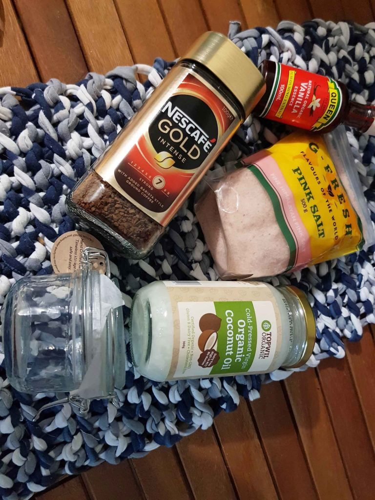 Simple and easy salt scrub Gift Ideas