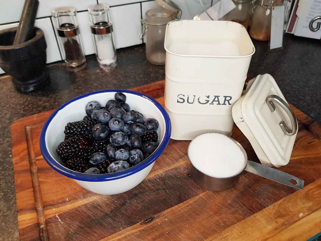 Homemade Jam - all you need is 3 ingredients