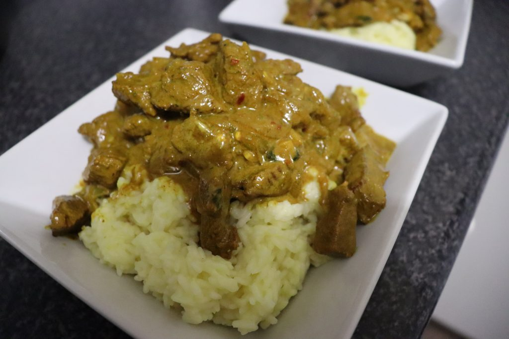 quick Simple Curry Meal
